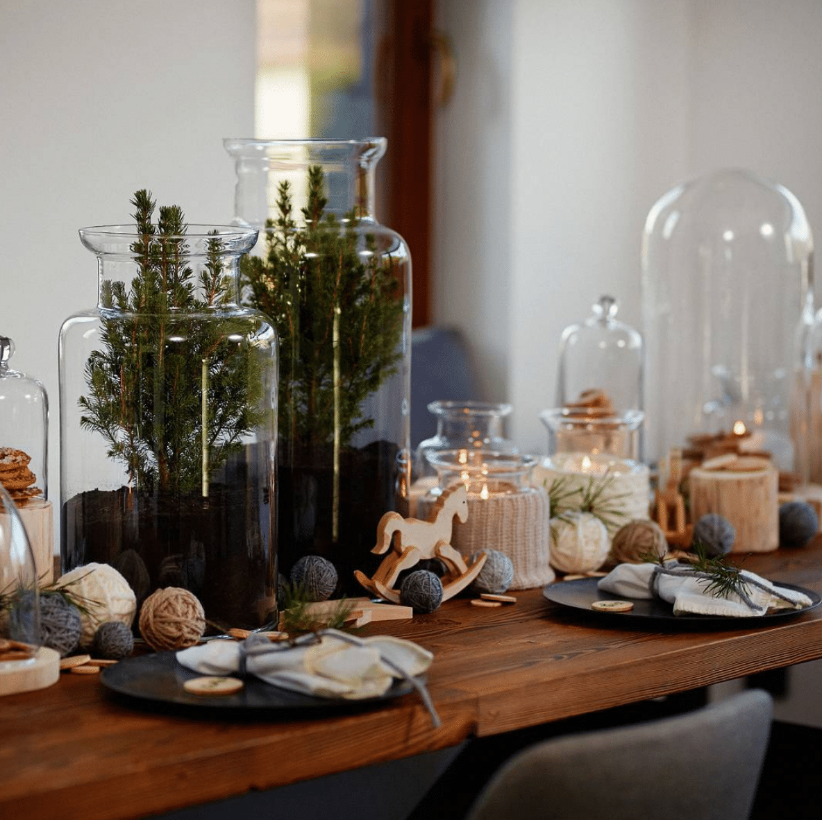 idees Décoration de table de noël - Zu design